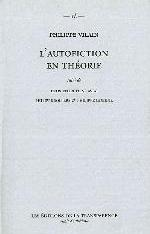 AUTOFICTION EN THEORIE (L-)